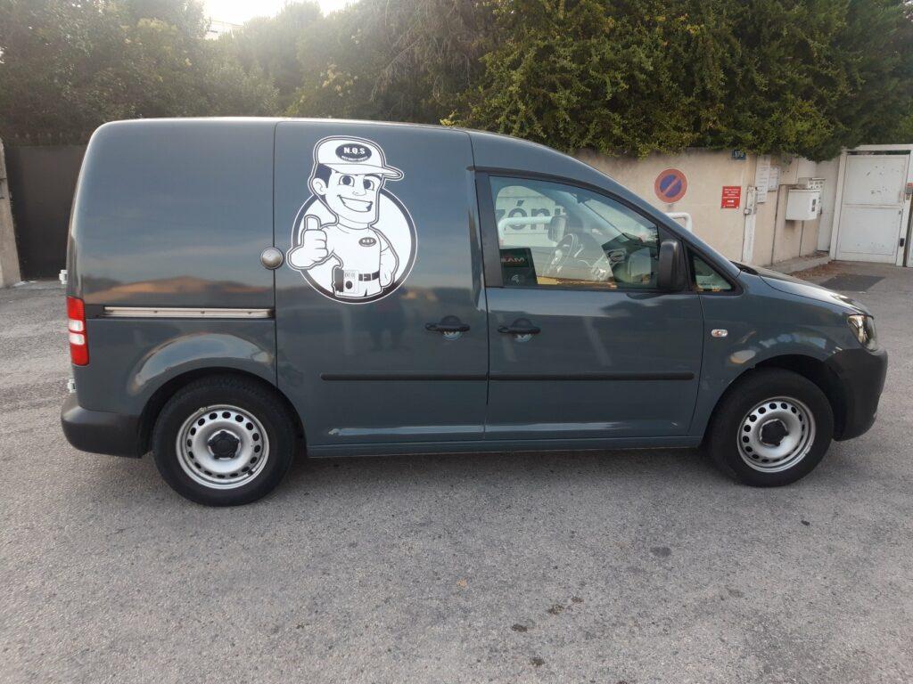 Flocage et Covering véhicule par la société IPAnel à Marseille