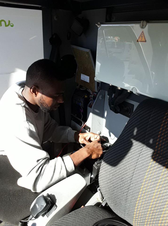 Installation système Radio sur les balyeuses de la Marie de Carpentras