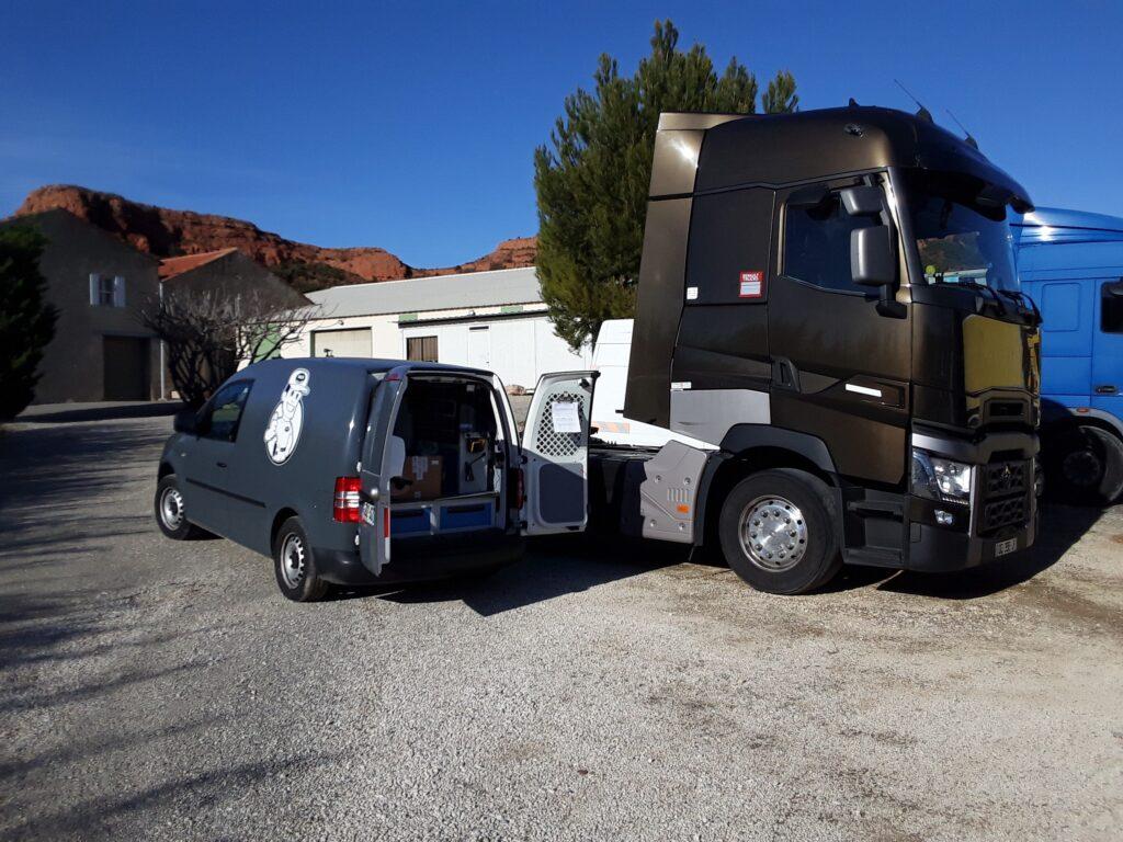 Intervention sur Tracteur Poids Lourd
